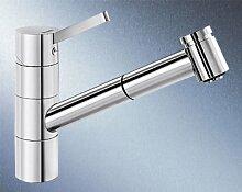 Blanco Tivo-S-F Chrom Vorfenster-Armatur Mischbatterie Einhandmischer Küche HD