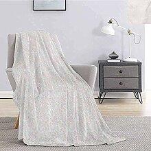 Blanket Elfenbein Fuzzy Mittelalterlichen