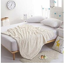 Blanket Gestreifte Decke, Herbst und Winter Dicke