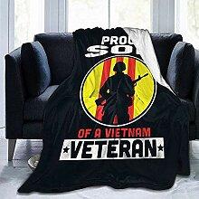 Blanket Stolzer Sohn Vietnam Veteran Hotel Decke