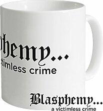 Blasphemy Tasse