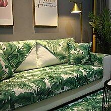 Blatt Wasserdicht Sofabezug, Floral bedruckt