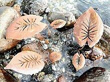 Blattstecker 2 Blätter Rost Deko Stecker Gartendeko Edelrost Beetstecker