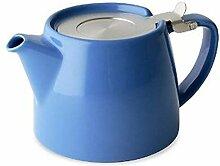 Blau, 18 oz, 530 ml (2 Tassen) LOOSE LEAF Teekanne