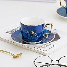 Blau Europäischer Phnom Penh Becherhalter Keramik