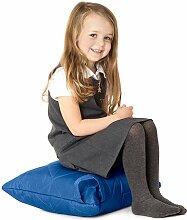 Blau, gesteppte, wasserabweisende Kissen Sitzsack