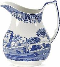 Blau Italienisches 0,85Liter Porzellan Krug,