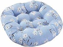 Blau Kissen Büro Computer Stuhl Baumwolle
