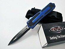 Blau Klappmesser Scharf Stahl Messer Klinge