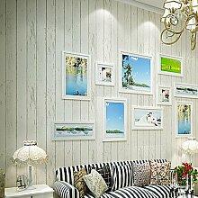 Blau lackiert Altholz Non-Woven WallpaperGrain Tapeten Tapeten Holz Hintergrund Wand Tapeten, Weiß