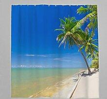 Blau Ozean Meer Wandteppich Wandbehang Tapestry