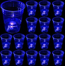 (blau) Partybecher für Party-Event-Spaß, 24 im