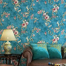 Blau Retro Land Garten Schlafzimmer Sofa TV