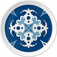 Blau Talavera (Dekorative Blume Ilustration