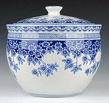 Blau Und Weiß Traditionelles Porzellan Dekorative