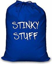 Blau Wäschebeutel Stinky Stuff Aufbewahrung