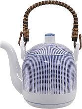 Blau / Weiße Teekanne - Sendan Tokusa - 14,7 x