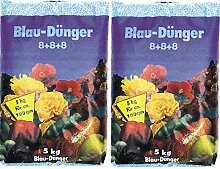 Blaudünger 5kg Gartendünger 8+8+8 Blaukorn Obst