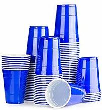 Blaue Bechern 1000 x Blue Cups - Party Beer Pong