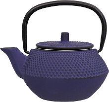 Blaue Teekanne aus Gusseisen - Gusseisen - 13,5 x