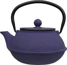 Blaue Teekanne aus Gusseisen - Gusseisen - 17,5 x