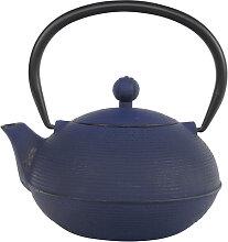 Blaue Teekanne aus Gusseisen - Gusseisen - 17 x 15