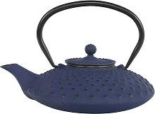 Blaue Teekanne aus Gusseisen - Gusseisen - 22 x 18