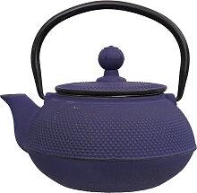 Blaue Teekanne aus Gusseisen - Gusseisen - 600ml