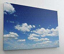 Blauer Himmel Sky Wolken Leinwand Bild Wandbild