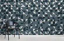 Blaues Bauhaus-geometrisches