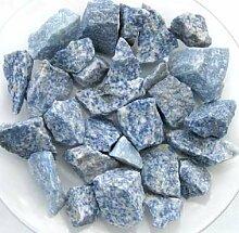 Blauquarz 500g., Rohsteine Minerale Wasseraufbereitung