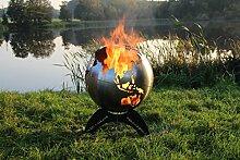 BlazeBall Feuerkugel Weltkugel 60 cm Feuerschale