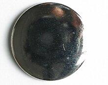 Blazerknopf - Größe: 15mm - Farbe: silber