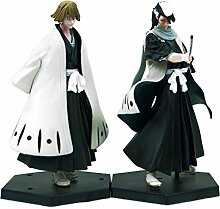 Bleach Anime Urahara & Byakuya Figur Se