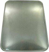 Blech vor einem Kamin 50x60cm Farbr Silber BL56S