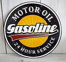 Blechschild Blech Metallschild WERKSTATT Auto (Tankstelle)