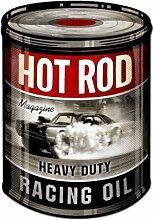 Blechschild Hot Rod Oil Tuning Racing Garage Werkstatt Cars Auto USA