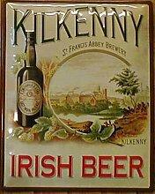 Blechschild Kilkenny Irish Beer 50x40 cm Brauerei