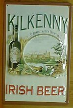 Blechschild Kilkenny Irish Beer Brauerei Bier