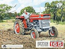 Blechschild Massey 165 15x20