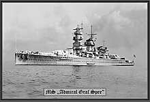 Blechschild MS Admiral GRAF Spee kriegschiff Boo