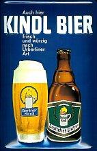 Blechschild Nostalgieschild Berliner Kindl Bier