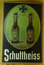 Blechschild Schultheiss Bier Brauerei