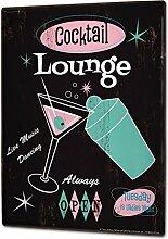 Blechschild XXL Bar Party Cocktail