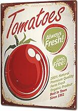 Blechschild XXL Küche Tomaten