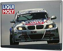 Blechschild XXL Nostalgie Auto Retro Liqui Moly Tourenwagen