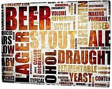 Blechschild XXL Nostalgie Bier Biersorten