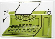 Blechschild XXL Nostalgie Schreibmaschine