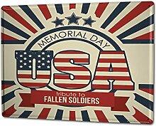 Blechschild XXL Weltenbummler USA Gedanken Soldaten