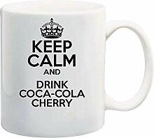 Bleib ruhig und trinke COCA-COLA Cherry Theme 11oz